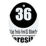 36 Teresita (Classic) Oval Ornament