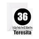 36 Teresita (Classic) Greeting Cards (Pk of 10)