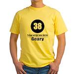 38 Geary (Classic) Yellow T-Shirt