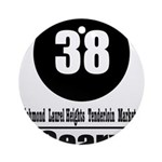 38 Geary (Classic) Ornament (Round)