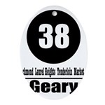 38 Geary (Classic) Oval Ornament