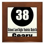 38 Geary (Classic) Framed Tile