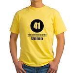 41 Union (Classic) Yellow T-Shirt