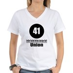 41 Union (Classic) Women's V-Neck T-Shirt