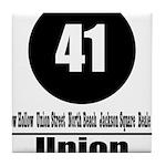 41 Union (Classic) Tile Coaster