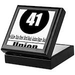 41 Union (Classic) Keepsake Box