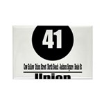41 Union (Classic) Rectangle Magnet (10 pack)