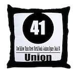 41 Union (Classic) Throw Pillow
