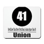 41 Union (Classic) Mousepad