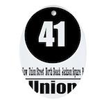 41 Union (Classic) Oval Ornament