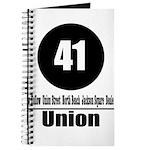 41 Union (Classic) Journal