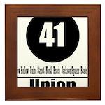 41 Union (Classic) Framed Tile