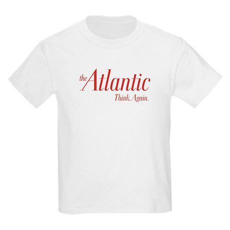 Atlantic Think.Again. Red Logo Kids Light T-Shirt