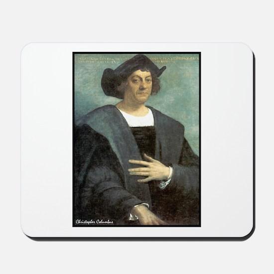 "Faces ""Columbus"" Mousepad"