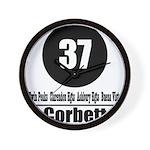37 Corbett Wall Clock