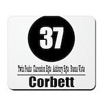 37 Corbett Mousepad