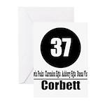 37 Corbett Greeting Cards (Pk of 10)