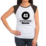 43 Masonic (Classic) Women's Cap Sleeve T-Shirt