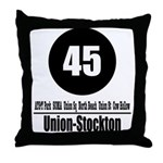 45 Union-Stockton (Classic) Throw Pillow