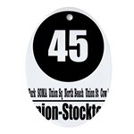 45 Union-Stockton (Classic) Oval Ornament