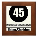 45 Union-Stockton (Classic) Framed Tile
