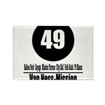 49 Van Ness-Mission (Classic) Rectangle Magnet (10