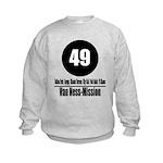 49 Van Ness-Mission (Classic) Kids Sweatshirt