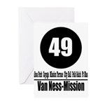 49 Van Ness-Mission (Classic) Greeting Cards (Pk o