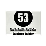 53 Southern Heights (Classic) Rectangle Magnet (10