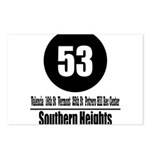 53 Southern Heights (Classic) Postcards (Package o