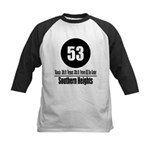 53 Southern Heights (Classic) Kids Baseball Jersey