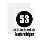 53 Southern Heights (Classic) Greeting Cards (Pk o