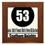 53 Southern Heights (Classic) Framed Tile