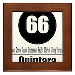 66 Quintara (Classic) Framed Tile