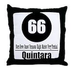 66 Quintara (Classic) Throw Pillow