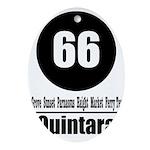 66 Quintara (Classic) Oval Ornament