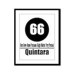 66 Quintara (Classic) Framed Panel Print