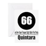 66 Quintara (Classic) Greeting Cards (Pk of 10)