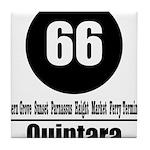 66 Quintara (Classic) Tile Coaster