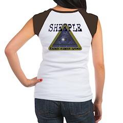 Sheeple NWO Women's Cap Sleeve T-Shirt