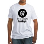 67 Bernal Heights Fitted T-Shirt