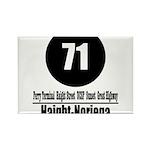 71 Haight-Noriega (Classic) Rectangle Magnet (10 p