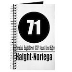 71 Haight-Noriega (Classic) Journal