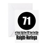 71 Haight-Noriega (Classic) Greeting Cards (Pk of