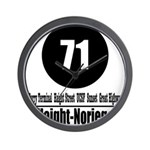 71 Haight-Noriega (Classic) Wall Clock