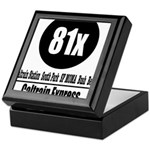 81x Caltrain Express Keepsake Box