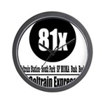81x Caltrain Express Wall Clock