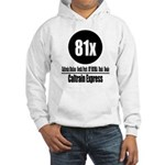 81x Caltrain Express Hooded Sweatshirt