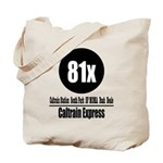 81x Caltrain Express Tote Bag