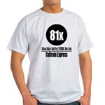 81x Caltrain Express Light T-Shirt